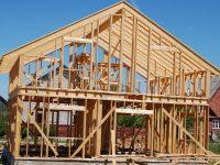 Puitkarkass majadse ehitamine.